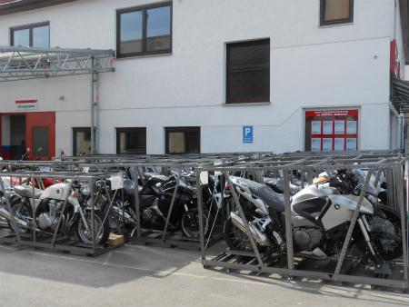 バイクの配送4