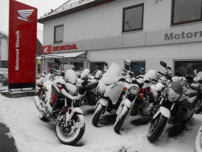 バイク屋の前4