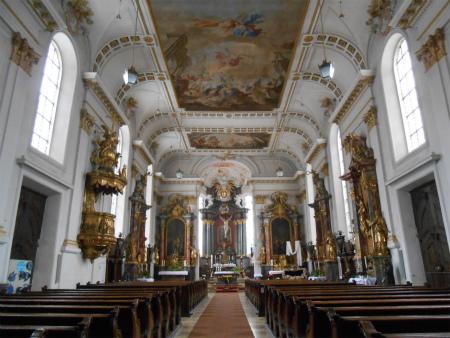 Wiesensteigの教会1