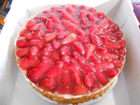 イチゴのケーキ1