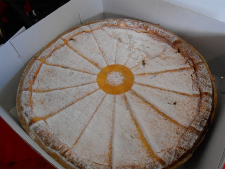 アプリコットのケーキ1