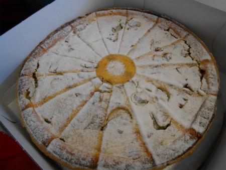 ルバーブのケーキ1