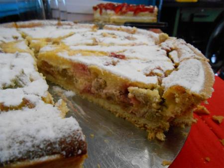 ルバーブのケーキ2