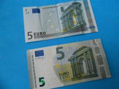 5ユーロ紙幣1