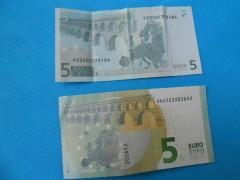 5ユーロ紙幣2