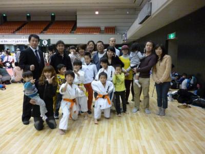 20131208 関西ジュニア交流大会 選手&応援団