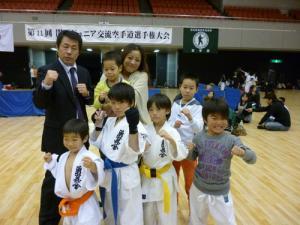 20131208 関西ジュニア交流大会 選手&指導陣!