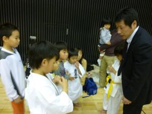 20131208 関西ジュニア交流大会 選手達と反省会!