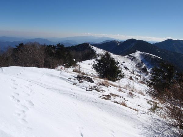 頂上稜線2