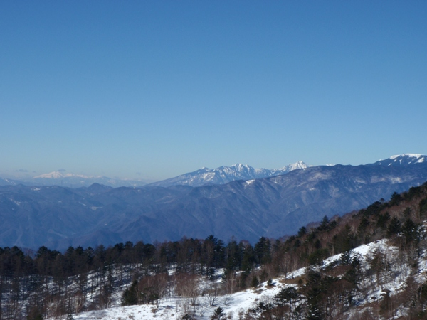 頂上稜線6