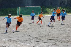 【2012年度 第44回横浜国際チビッ子サッカー大会】 青葉FC Lブルー 予選ブロックリーグ @保木グラウンド/少年サッカー