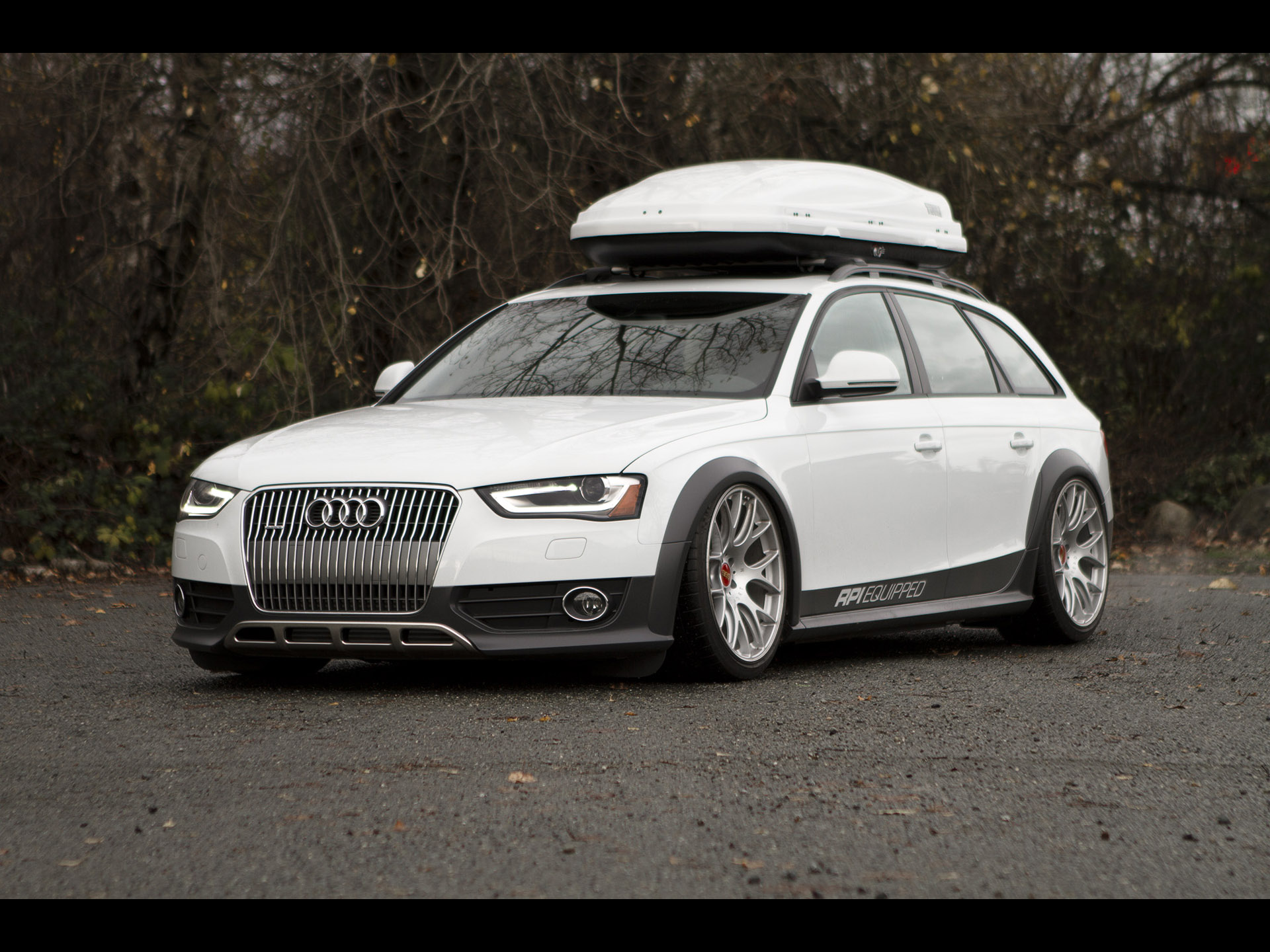 Rpi Equipped Audi A4 Allroad Quattro 2012 アウディに嵌まる