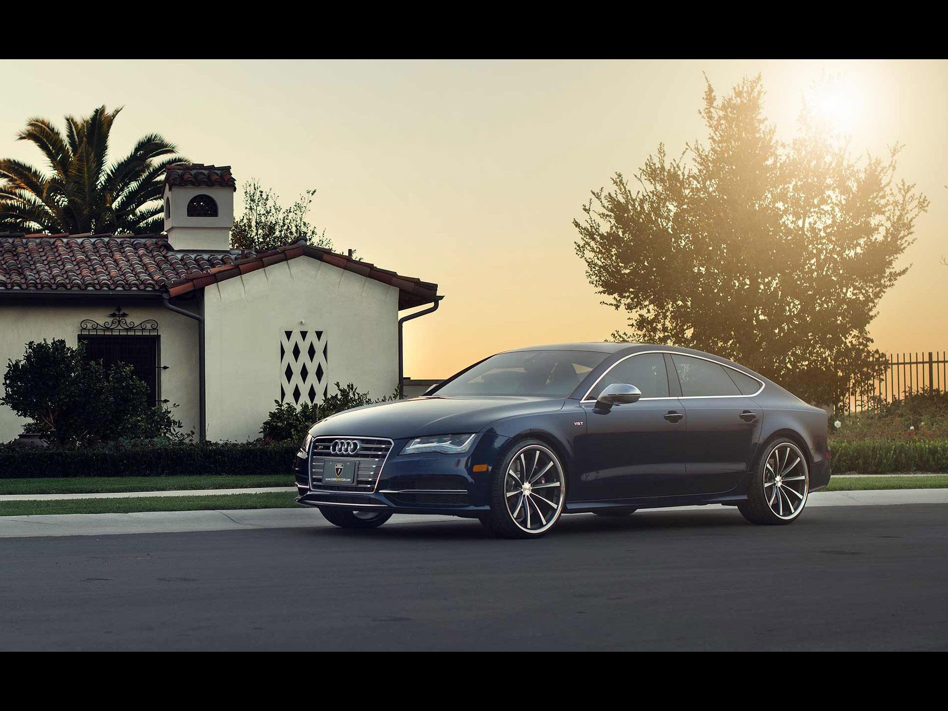 VOSSEN Wheels Audi S7 Sportback 2012 - アウディに嵌まる - 壁紙画像ブログ