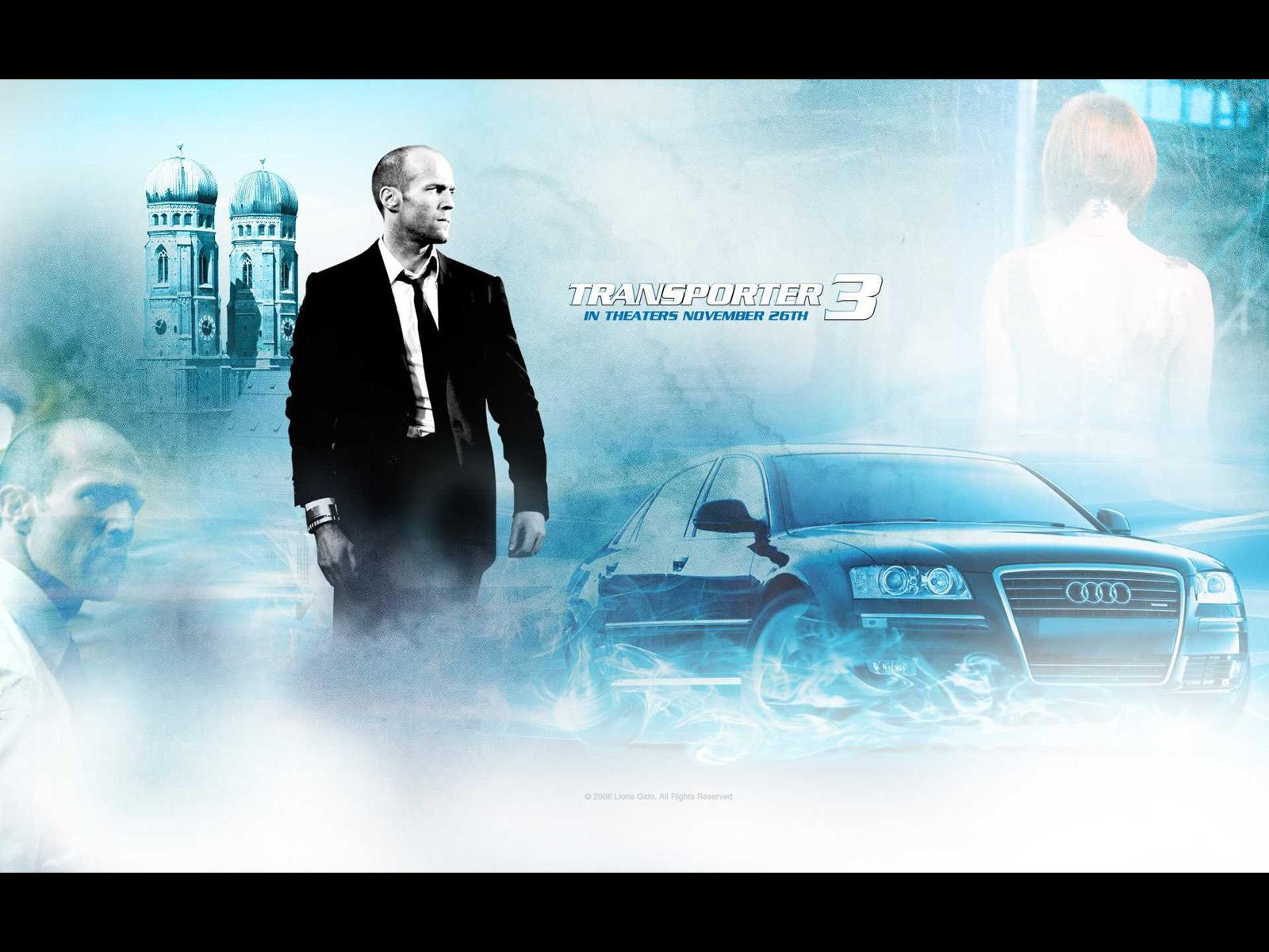 Audi A8 In Transporter 3 2008 アウディに嵌まる 壁紙画像ブログ