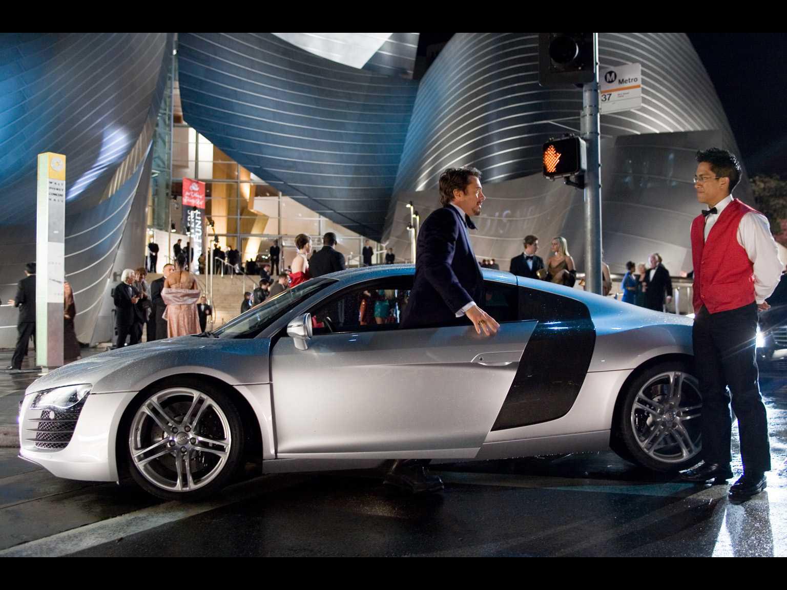 Audi R8 In Iron Man 2008 アウディに嵌まる 壁紙画像ブログ