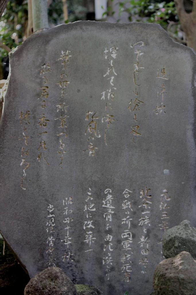 由比ガ浜での戦死者の埋葬の塚_1