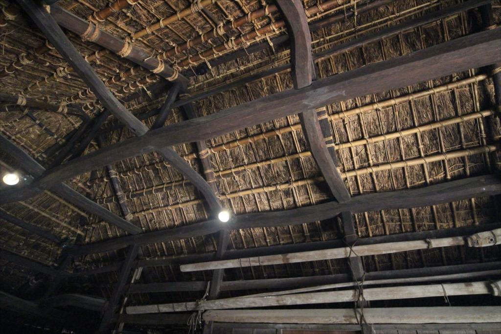 『ニワ』部分の屋根