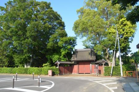 麻生陣屋跡 (2013年6月3日)(茨城県行方市) - び・び・びのびいすけ