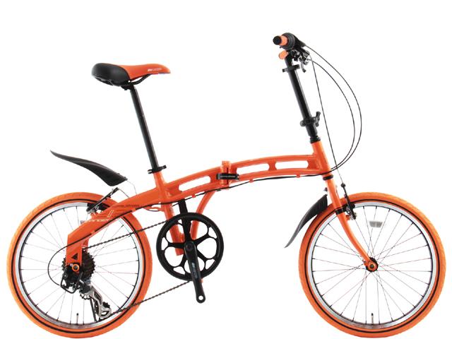 カッコイイ折りたたみ自転車