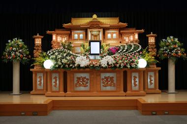 バラ花祭壇4843
