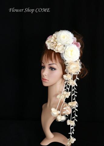 アンティーク 髪飾り 結婚式