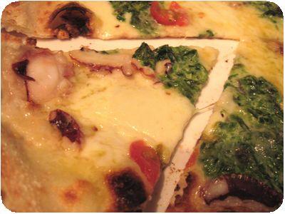 ピザ(タコと青のり)