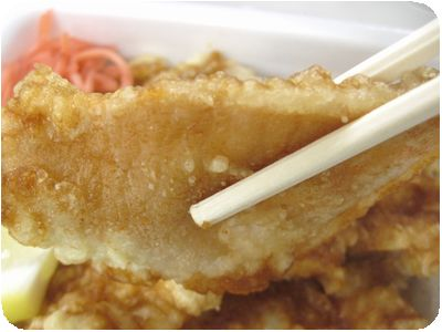 ロース豚天丼弁当