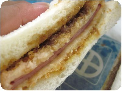 サンドウイッチ(ハムカツ)