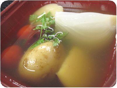 ごろっと野菜の冷たいスープ