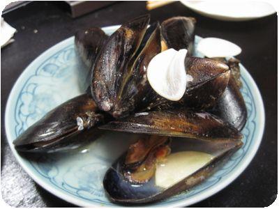 ムール貝のアクアパッツァ