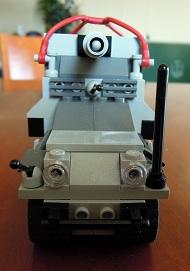 LEGO装甲車3_フロントビュー