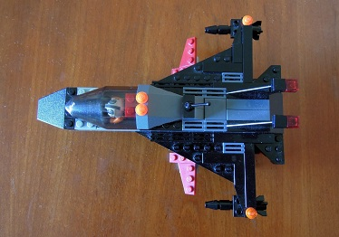 LEGO戦闘機_プランビュー