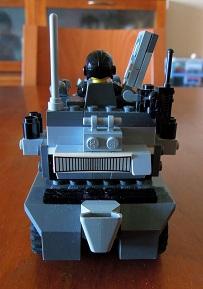 LEGO装甲車2_リアビュー