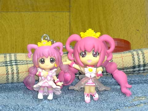 『プリンセスプリキュアスイング!』と『プリキュアプリンセスマスコット』