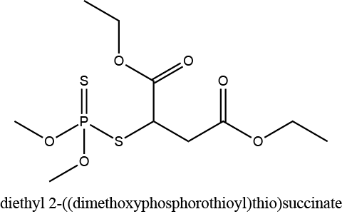 diethyl 2-((dimethoxyphosphorothioyl)thio)succinate