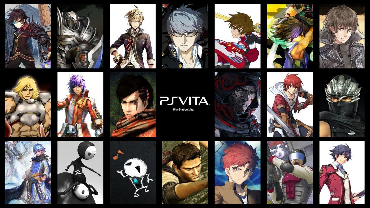 Psvita ヴィータ用ゲームソフトの主人公やヒロインをまとめた壁紙 おまけにカグラやフォトカノも Playstationvita
