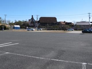 20140119_ローズマリー公園駐車場
