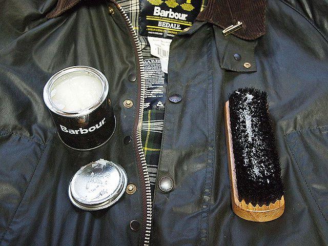 barbourオイルドジャケット