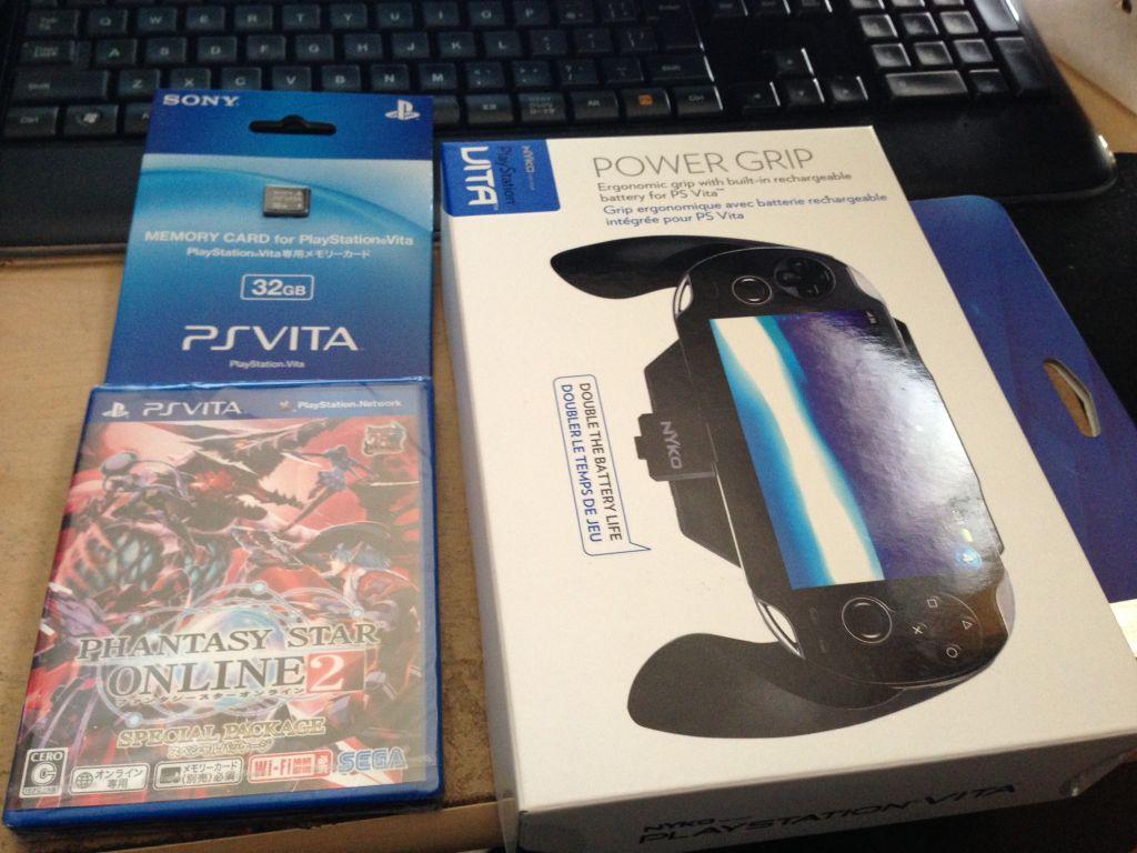 VitaでPSO2をする人に!稼動時間を倍に延ばす「Power Grip for PS Vita」レビュー