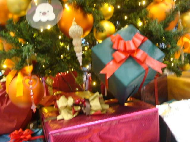 駅クリスマスツリー 1
