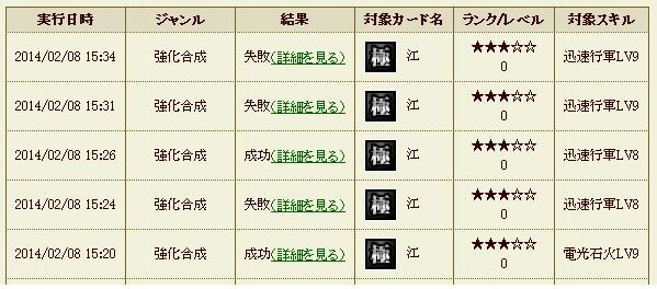 お江強化5 迅速5