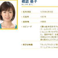 橋詰優子アナ