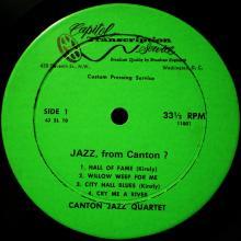 Canton Jazz Quartet