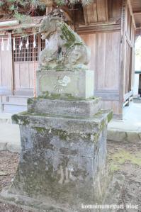 引田八雲神社(あきる野市引田)8