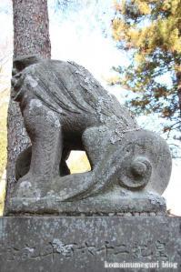 引田八雲神社(あきる野市引田)14