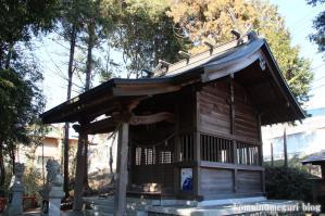 白滝神社(あきる野市上代継)14