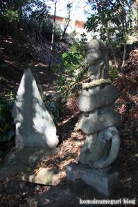 白滝神社(あきる野市上代継)5