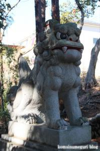 白滝神社(あきる野市上代継)10