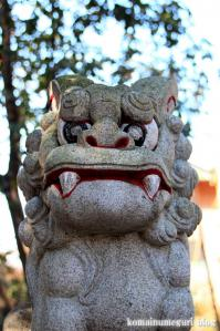 白滝神社(あきる野市上代継)12