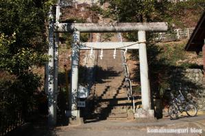 草花神社(あきる野市草花)1
